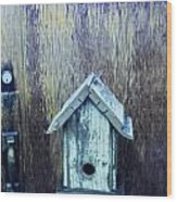 The Birdhouse Wood Print