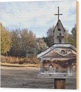 The Birdhouse Kingdom - American Kestrel Wood Print