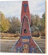 The Birdhouse Kingdom - Clark's Nutcracker Wood Print
