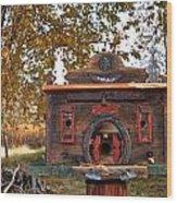 The Birdhouse Kingdom - Red-naped Sapsucker Wood Print