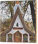The Birdhouse Kingdom - Steller's Jay Wood Print
