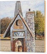 The Birdhouse Kingdom - The American Coot Wood Print