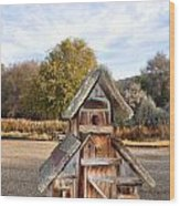 The Birdhouse Kingdom - The American Dipper Wood Print