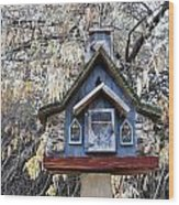 The Birdhouse Kingdom - The Cordilleran Flycatcher Wood Print