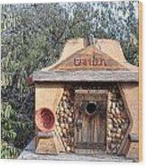 The Birdhouse Kingdom - The Evening Grosbeak Wood Print