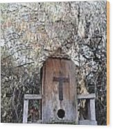 The Birdhouse Kingdom - The Olive-sided Flycatcher Wood Print
