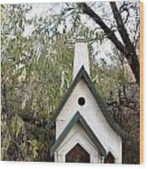 The Birdhouse Kingdom - The Pileated Woodpecker Wood Print