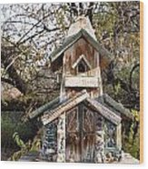 The Birdhouse Kingdom - The Red Crossbill Wood Print