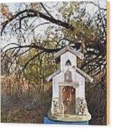The Birdhouse Kingdom - Wilson's Warbler Wood Print