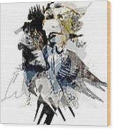 The Birdman Wood Print