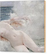 The Birth Of Venus Wood Print by Henri Gervex