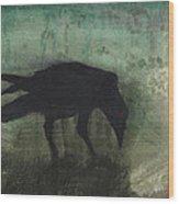 The Black Flag Of Himself Wood Print