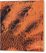 The Black Hand Wood Print