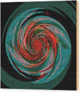 The Black Hole That Is The Big Skip Wood Print
