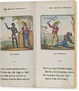The Black Man's Lament Wood Print