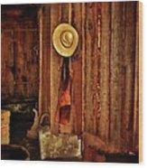 The Blacksmith's Hat Wood Print