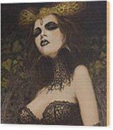 The Blood Countess Wood Print