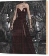 The Blood Queen Wood Print