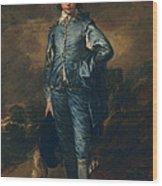 The Blue Boy, C.1770 Wood Print