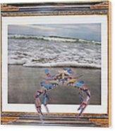 The Blue Crab Wood Print
