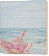 The Blue Dawn Wood Print