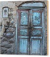 The Blue Door 1 Wood Print