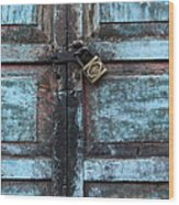 The Blue Door 2 Wood Print