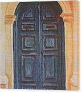 The Blue Door Venice Wood Print