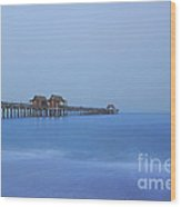 The Blue Hour Wood Print by Kim Hojnacki