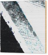 The Blue Streak Wood Print