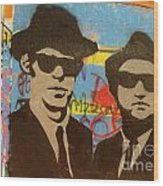 The Blues Brothers Wood Print by Craig Pearson
