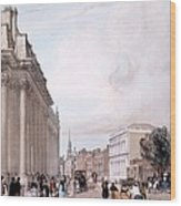 The Board Of Trade, Whitehall Wood Print