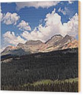 Mountain Pass - Colorado Wood Print