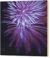 The Bombs Bursting In Air Wood Print by Robert ONeil