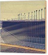 The Border Wood Print