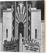 The Boulder Theatre Wood Print