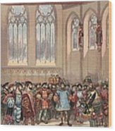 The Bourgogne Herald, Sent By Charles Wood Print
