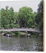 The Bow Bridge Wood Print