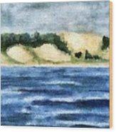 The Bowl - Dunes Study Wood Print