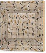 The Box Room Wood Print