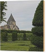 The Boxwood Garden - Villandry Wood Print