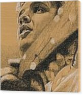 The Boy From Tupelo Wood Print