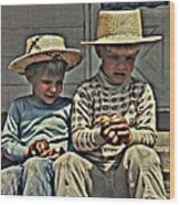 The Boys Wood Print