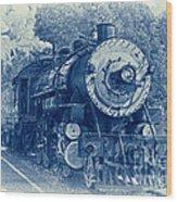 The Brakeman - Vintage Wood Print by Robert Frederick