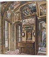 The Breakfast Room Wood Print