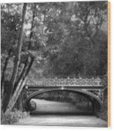 The Bridal Path Wood Print
