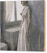 The Bride Wood Print by Anders Leonard Zorn