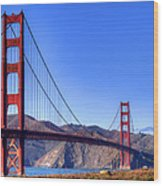 The Bridge Wood Print by Bill Gallagher