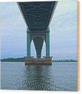 The Bridge. Wood Print