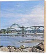 The Bridge To Old Town Wood Print